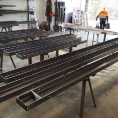 steel fabrication 007 235x235 - Project Gallery
