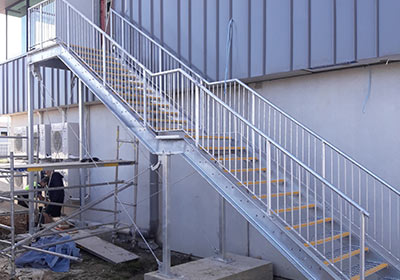 Steel Staircases, Auckland